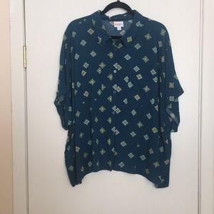 2XL LuLaRoe Amy Shirt DD32 1891